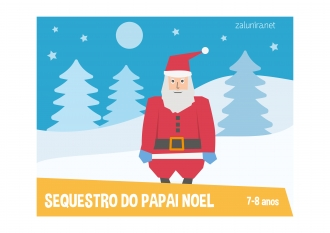 Sequestro do papai noel - 7-8 anos