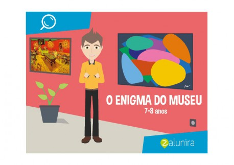 O enigma do Museu - 7-8 anos
