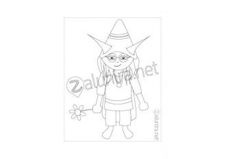 Desenhos para colorir - Alnio