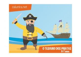 O tesouro dos piratas - 6-7 anos