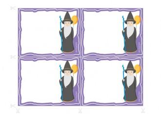 Convites para festas de aniversário para imprimir - Lineus, O Mágico