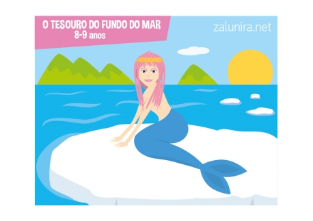O tesouro do fundo do mar - 8-9 anos