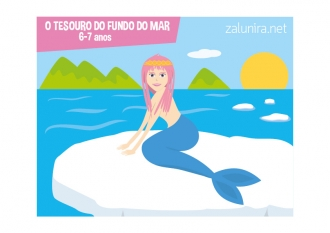 O tesouro do fundo do mar - 6-7 anos