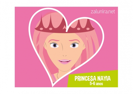 Princesa Nayia - 5-6 anos